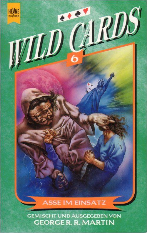<i>Wild Cards IV: Aces Abroad</I>,<br />Heyne Paperback <br />1997