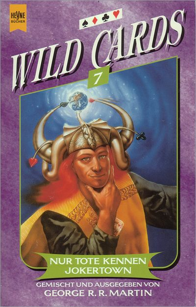 <i>Wild Cards V: <br />Down and Dirty</i>,<br />Heyne Paperback <br />1998