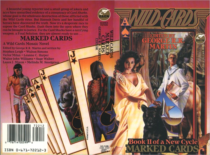 <i>Wild Cards XIV: Marked Cards</i>,<br />Baen Paperback 1994 (US),