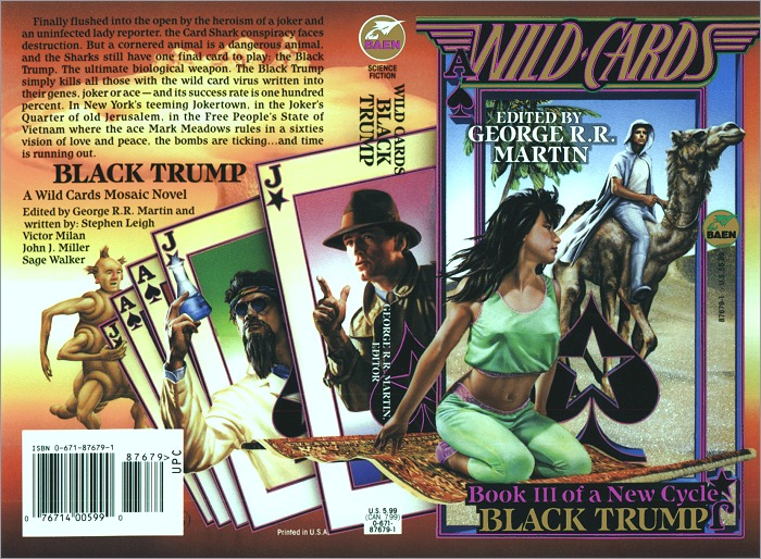<i>Wild Cards XV: Black Trump</i>,<br />Baen Paperback 1995 (US),
