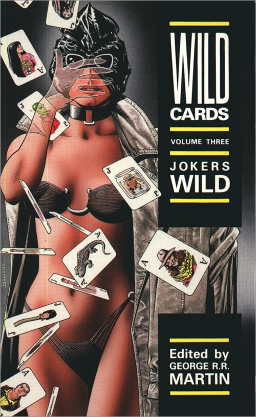 <i<i>Wild Cards III: Jokers Wild</i>,<br />Titan Paperback 1989 (UK),