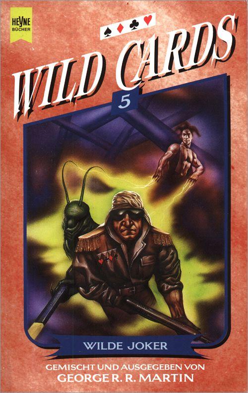 <i>Wild Cards III: Jokers Wild</i>,<br />Heyne Paperback <br />1997