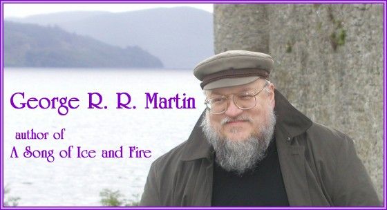George R. R. Martin in Ireland, photo by Parris